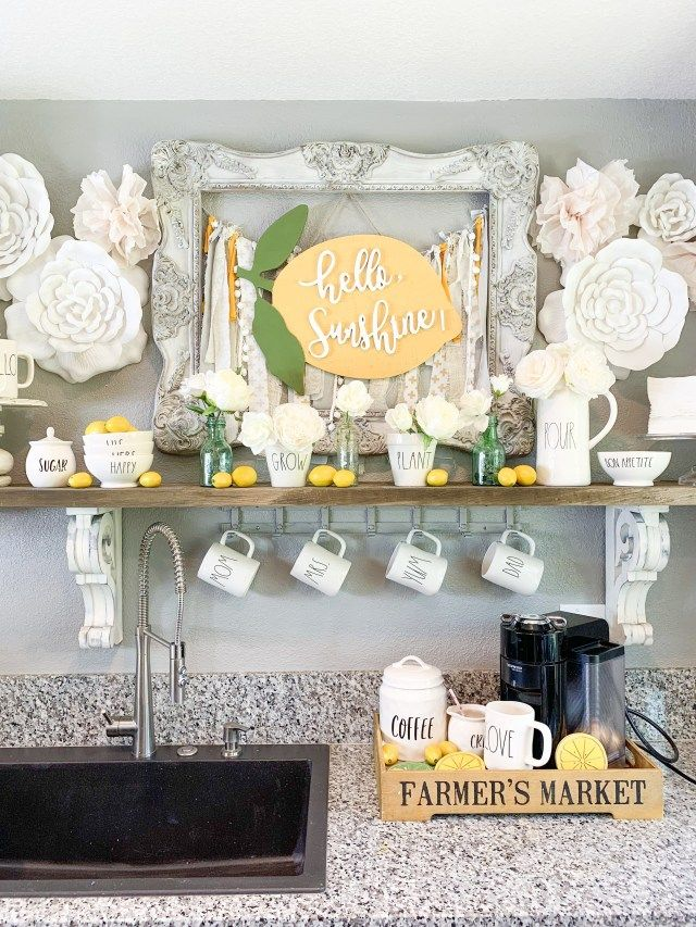Lemon Decor Lemon Decor Lemonade Decor Hobby Lobby Decor