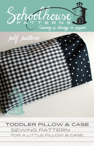 toddler pillow & case
