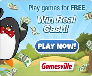 Gamesville – FREE Online Games That Pay You To Play