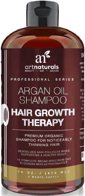 473ml Art Naturals Arganöl-Shampoo Haarwachstums-Therapie CC 27€