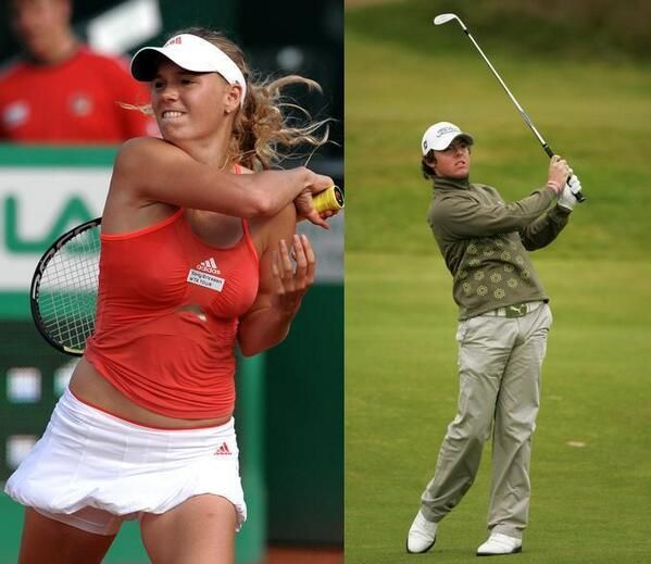 Caroline Wozniacki's fiance Rory McIlroy finishes eighth at the US Masters