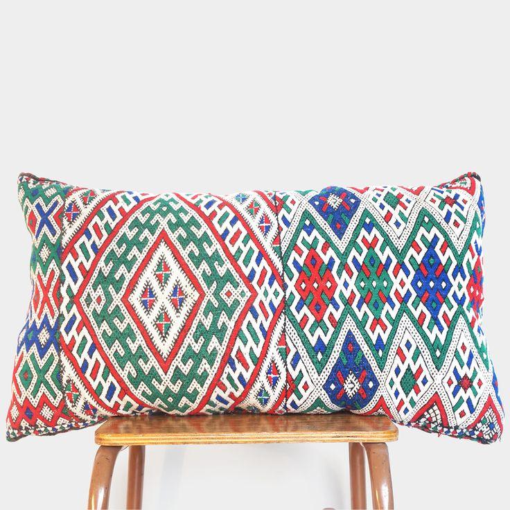 Vintage Berber kussen – Large