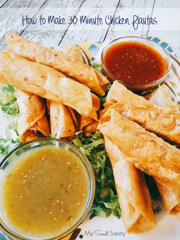 How to Make 30 Minute Chicken Flautas #HERDEZkids #Herdez #DiadelNiño