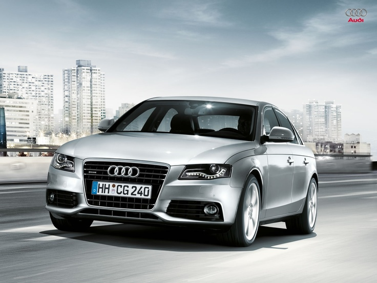 The Audi A4 is a compact executive car produced since late 1994 by the German car manufacturer Audi, a subsidiary of the Volkswagen Group.