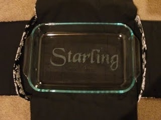 DIY etched glass!  - Made several casserole dishes for Christmas gifts as well as etched my sugar and flour canisters in the kitchen...DIY etched glass - Verdict: Super awesome & addicting