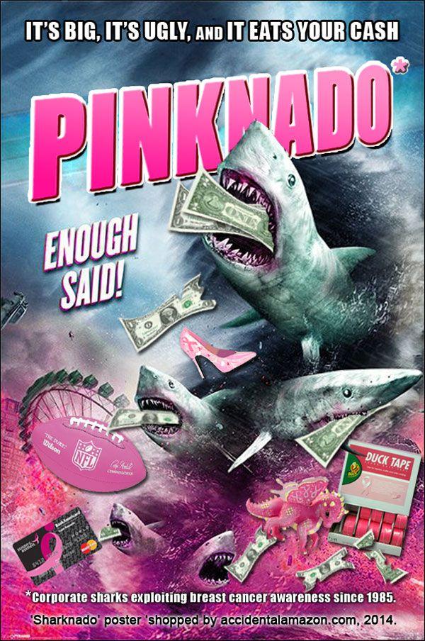 Attack of the Pinktober Sharks