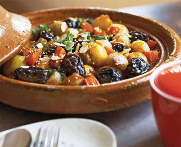 Dit recept komt uit Veggiestan van Sally Butcher (Karakter Uitgevers, 272 pag., 22,95€) met vegetarische recepten uit het Midden-Oosten.