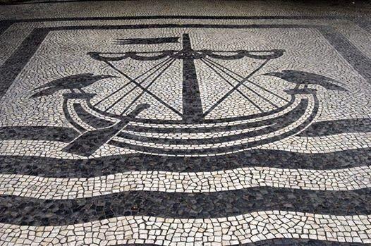 Lisbon, Portugal - Calçada Portuguesa Cate and the City - é linda mas não devia de ser usado em todo o lado, muito feio na maior parte dos sitios em portugal
