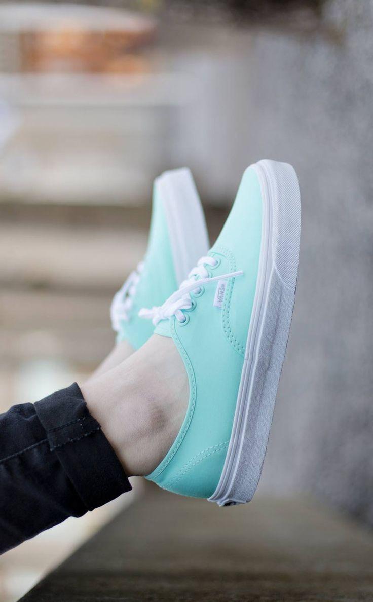 Tiffany Blue #sneakers #fashion #vans