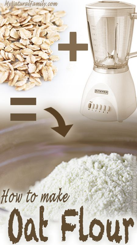 Oat flour is used for a variety of reasons, besides the fact that it's super healthy and oh-so-easy to make, it's beneficial and handy to keep around the pantry.