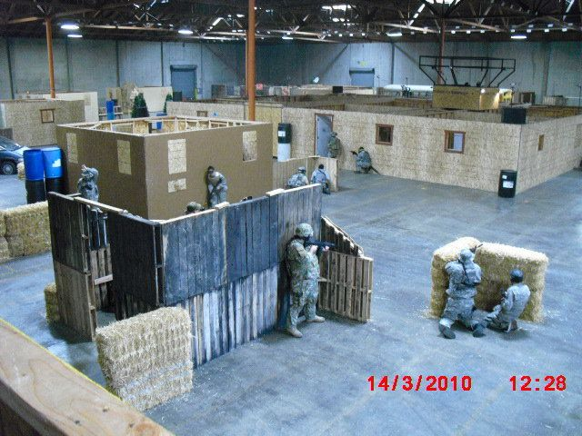indoor airsoft field - Google Search