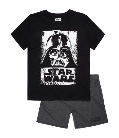 Star Wars-The Clone Wars Short Sleeve Pyjama grey