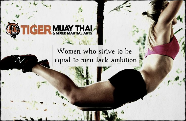Be the best you can be - regardless of gender. Tiger Muay Thai & MMA in Thailand will amp up your existence. No excuses. No tomorrow. www.tigermuaythai...