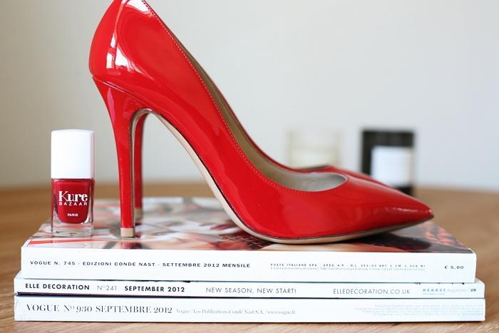 Hello red. Sara K   Trendi