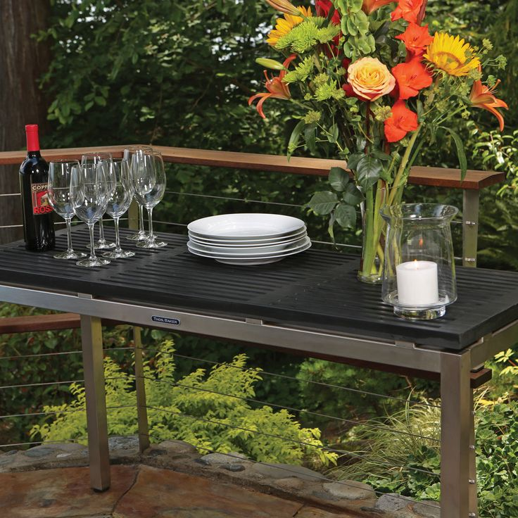 Outdoor Console Table - Large Home Office Furniture Check more at http://www.nikkitsfun.com/outdoor-console-table/