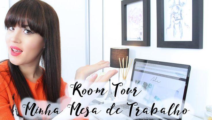 ROOM TOUR: MINHA MESA DE TRABALHO l Ale Bittencourt