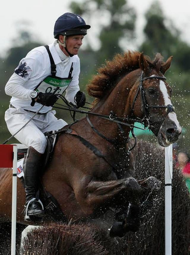 William Fox-Pitt, of Great Britain, competes on Chilli Morning