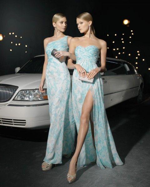 Trajes de Noche inspirados en la moda de principios del siglo XX y en el old glamour de las grandes divas de Hollywood. Nueva Colecci�n Two by Rosa Clara.