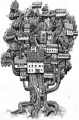 Tree city by Jonathan Edwards (@jontofski)