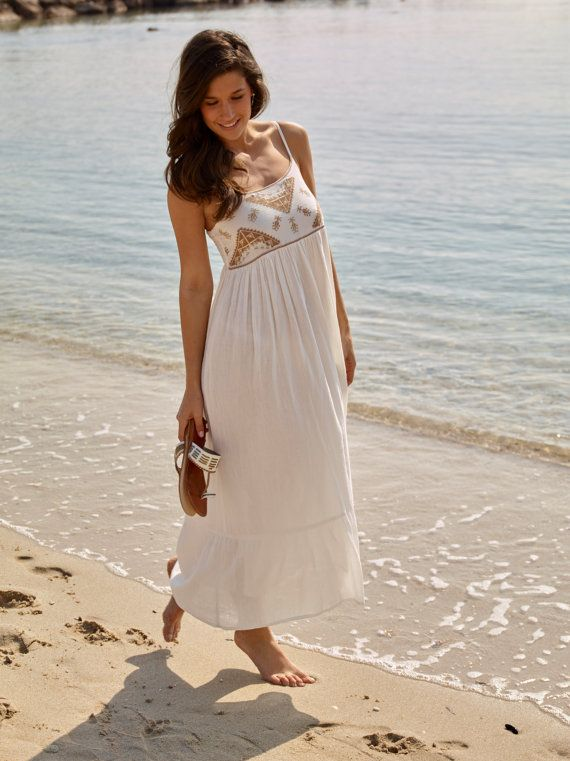 Maxi Dress Floaty Cotton Maxi Summer Dress Beach Dress Maxidress Maxi Dress Sundress Summerdress Summer Bea Summer Maxi Dress Maxi Dress Summer Dresses