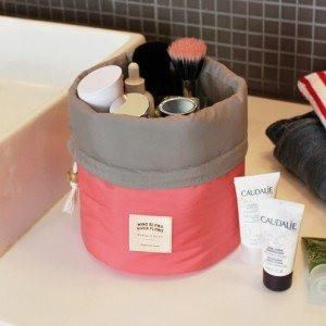 Kokontozai Dual Tone Travel Cosmetic Bag