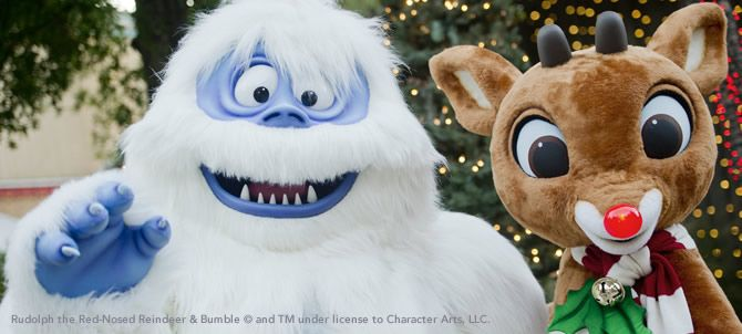 Rudolph the Red-Nosed Reindeer and Bumble the Abominable Snow Monster
