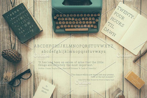 Twenty-Four Hours 'Til Dawn by HannahMarks on @creativemarket