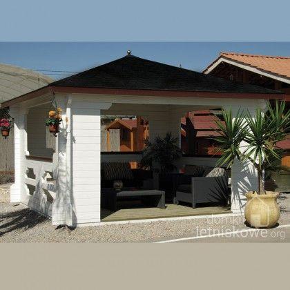 Drewniana altana ogrodowa (Gazebo) Ibiza 400x400 cm