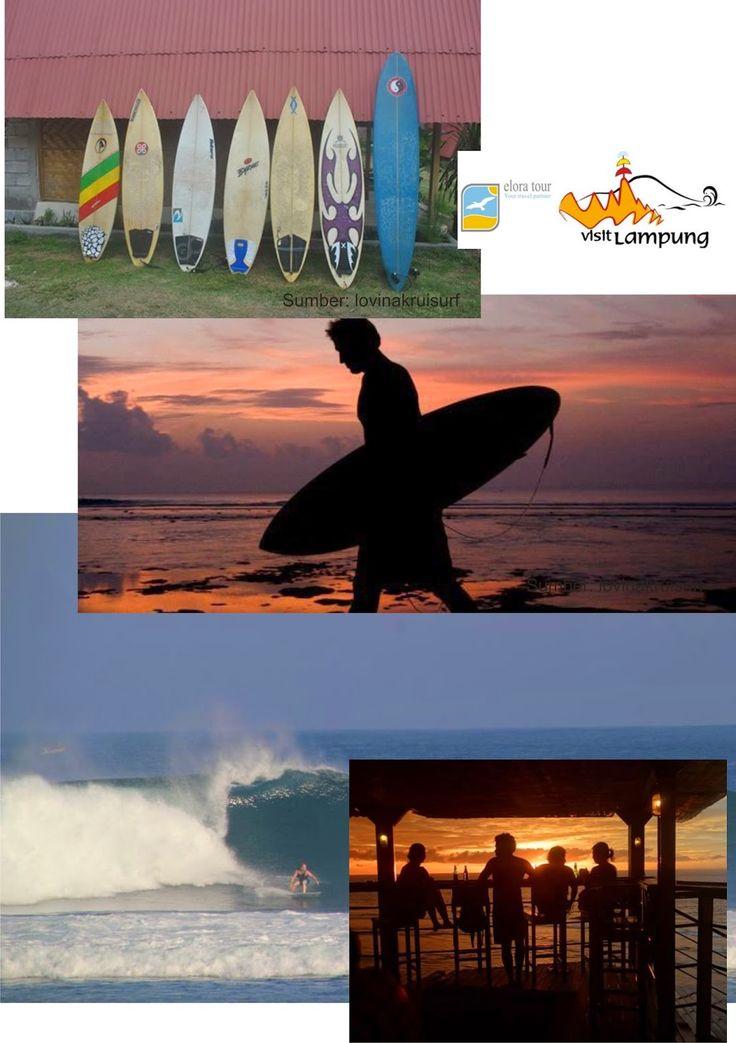 Paket Wisata Tanjung Setia Krui Surfing eloratour 2014