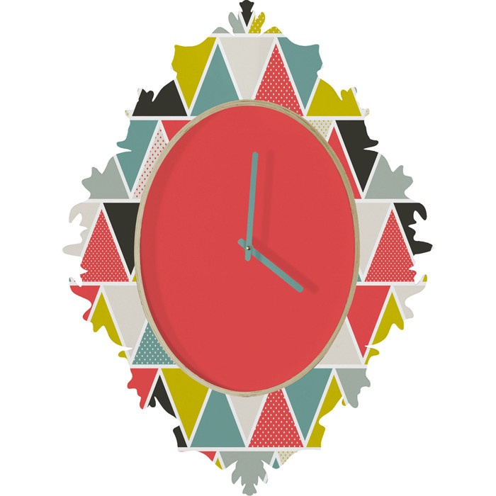 Heather Dutton Triangulum Baroque Clock