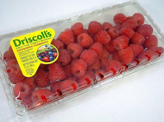 コストコ人気フルーツ ラズベリー Driscoll's Raspberries レビュー