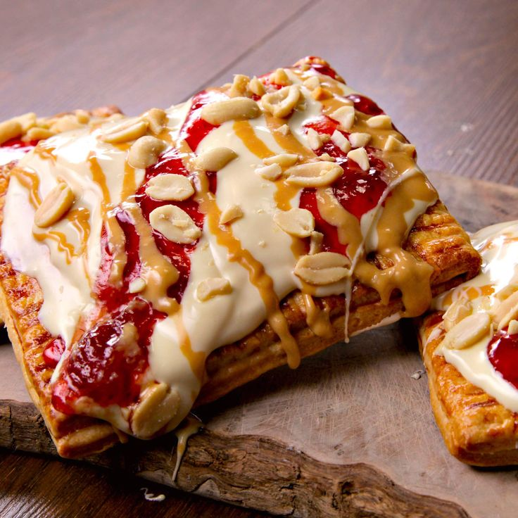 Peanut butter and jelly pop-tarts.