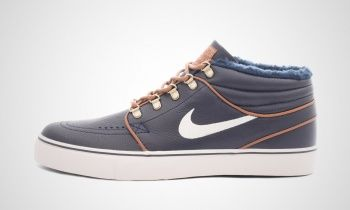 Nike - SB Zoom Stefan Janoski Mid Premium (dunkelblau)