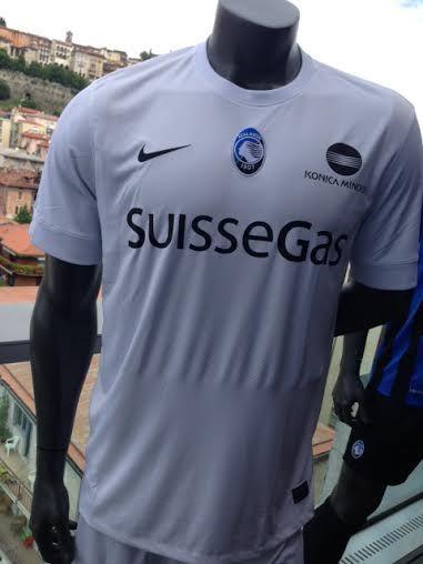 Maglia Atalanta Bergamasca Calcio: SuisseGas main sponsor #Atalanta #Bergamo #SuisseGas