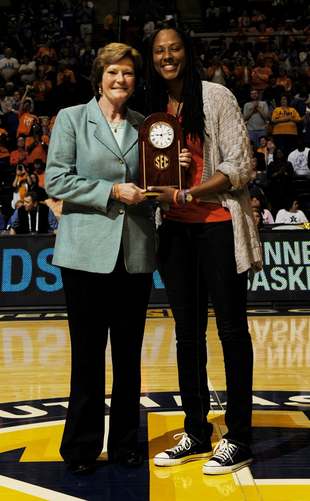 Pat Summitt and Chamique Holdsclaw