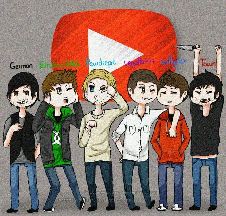 #German #ElRubiusOMG #Pewdiepie #Vegetta777 #Willyrex #Towngameplay