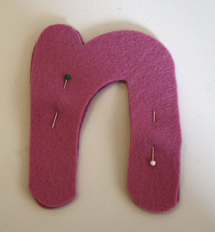 Homemade Toys: Felt Stuffed Letters (Easy Sewing Project)
