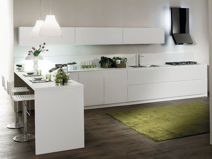 Fitted Kitchen CRETA FLUTE By Del Tongo