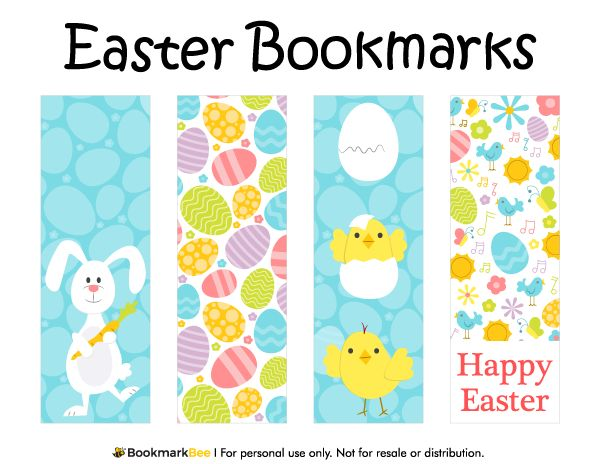 100 best printable bookmarks at bookmarkbee images on free printable easter bookmarks download the pdf template at httpbookmarkbee pronofoot35fo Gallery