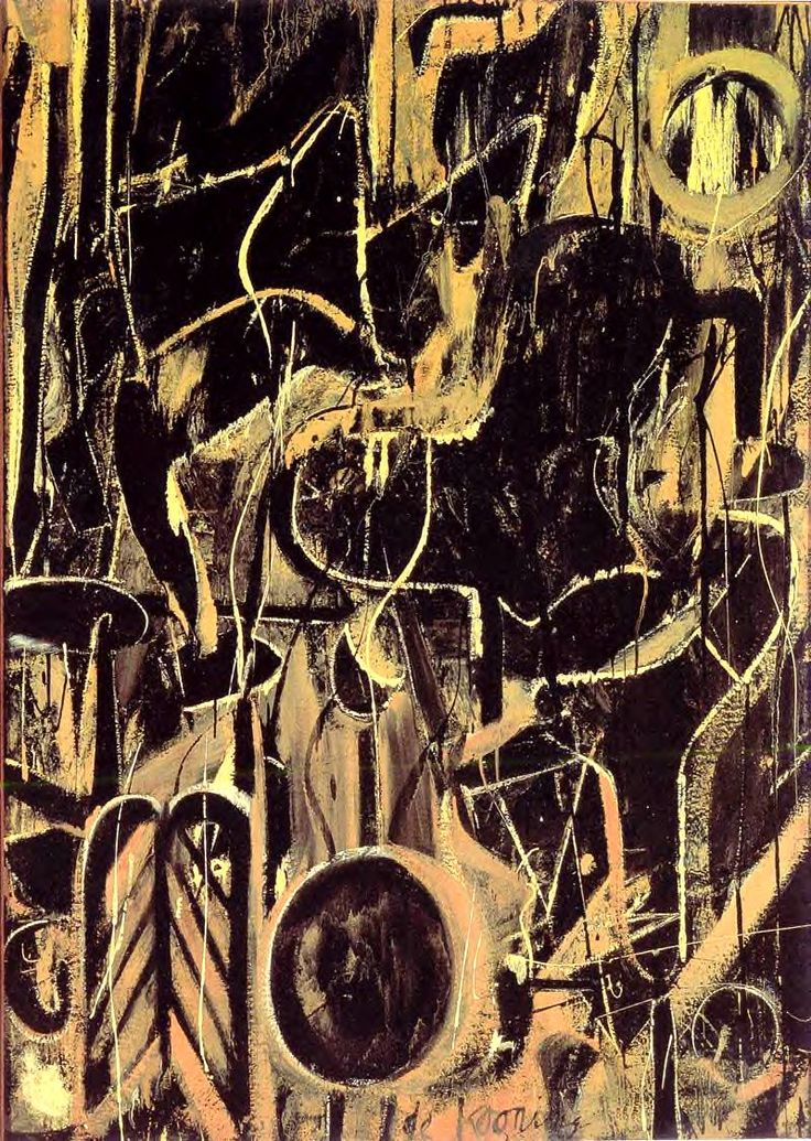 """""""light in august"""" / de kooning. this makes my brain tingle."""
