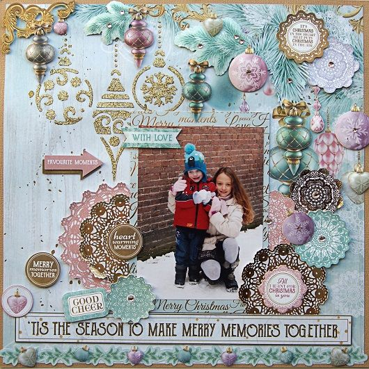 Kaisercraft Christmas Wishes - Emilia van dan Heuvel