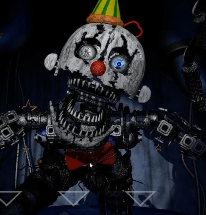 Baby S Nightmare Circus Nightmare Ennard Fnaf Characters Fnaf Fnaf Sister Location