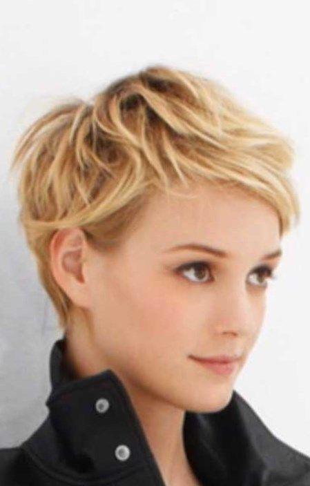 Short Pixie Haircut With Soft Curls Short Pixie Haircut