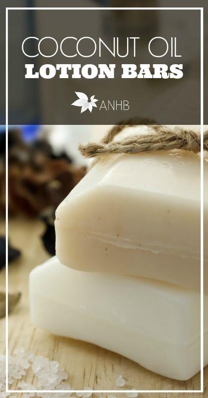 coconut oil lotion bars DIY CONTINUE:…