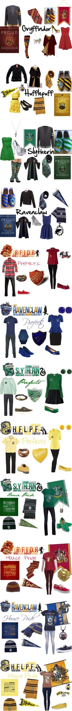 """Harry Potter"" by lillyred on Polyvore-Um yeah I completely enjoy this outift"
