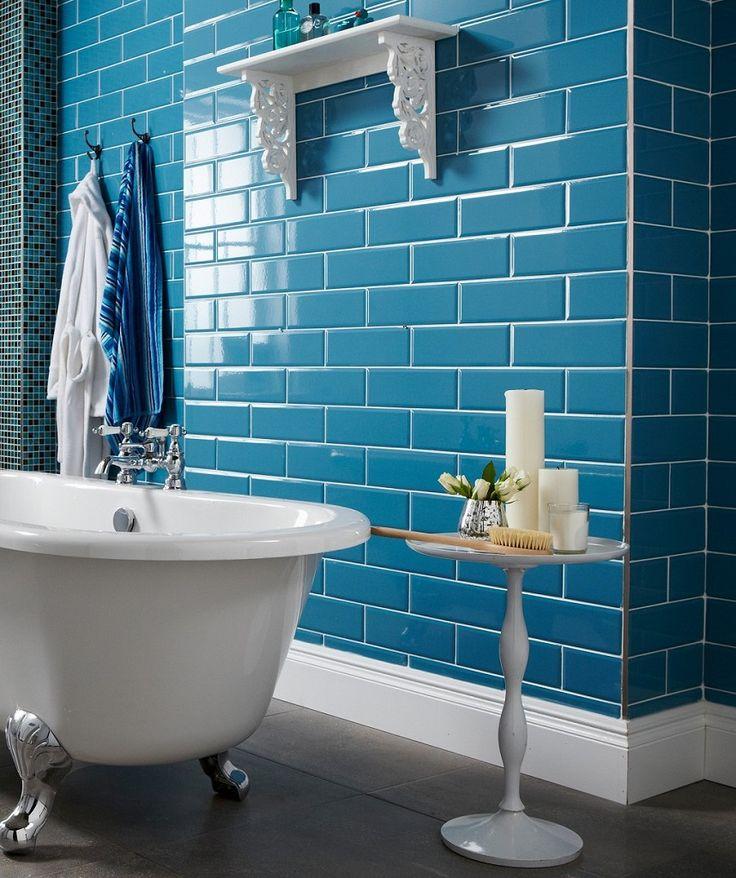 151 Best Beach Bath Images On Pinterest: Best 25+ Teal Tiles Ideas On Pinterest