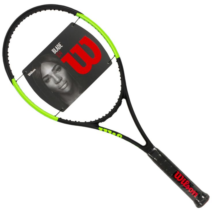 Wilson Blade 104 2017: Wilson Tennis Racquets ✅ Players will enjoy the optimal power of the Wilson Blade® 104 tennis racquet. The larger head size provides more sweetspot, more power and comfort. A more