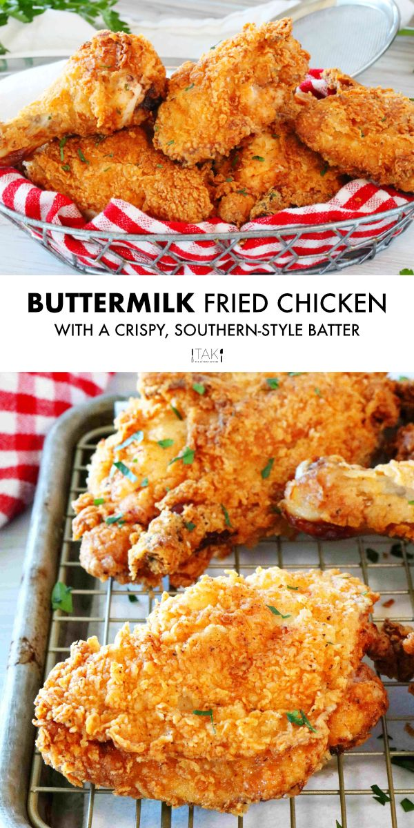 Best Buttermilk Fried Chicken Recipe The Anthony Kitchen Recipe In 2020 Fried Chicken Recipes Fried Chicken Recipe Easy Buttermilk Fried Chicken