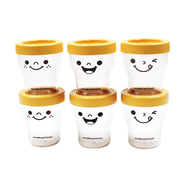 A set of 6 eco-friendly and non-toxic containers that are microwave/dishwasher/freezer safe and cute. Available at www.kidsberry.com.au