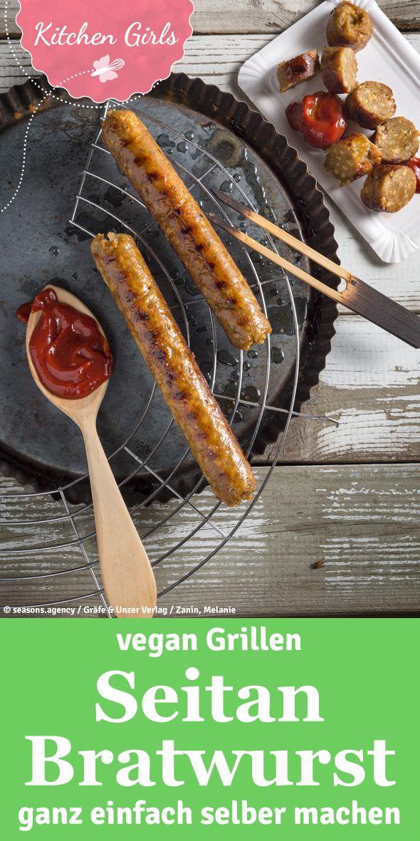 Grillen ohne Fleisch: So einfach lässt sich eine vegane Bratwurst selbst herstellen! Ein Grillgenuss für alle Vegetarier und Veganer!
